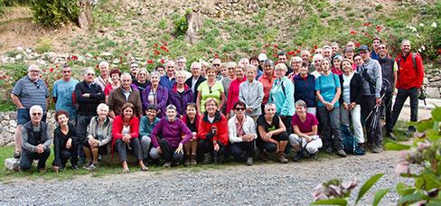 Photo de groupe des membres de l'association